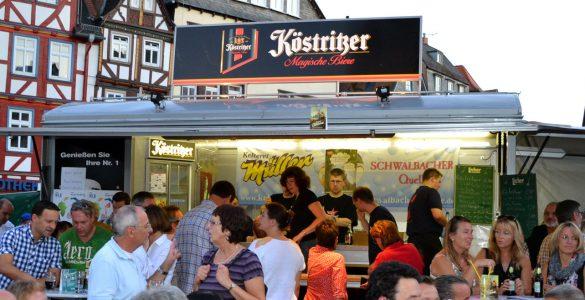 auf dem Butzbacher Altstadtfest