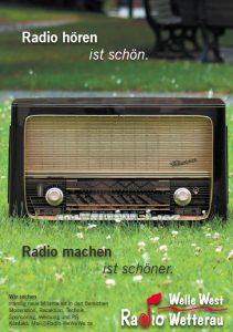 Jeder kann Radio machen mit Welle West Wetterau
