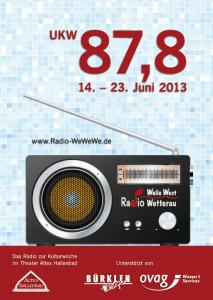 Plakat zur Sendewoche 2013