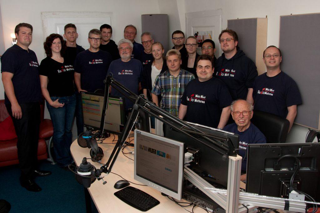Das Team im Studio