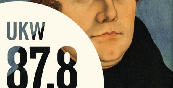 Radio Welle West Wetterau 2017, Bildnachweis zur Darstellung von Martin Luther: Lucas Chranach d. Ä., Diptychon des Bildnis Martin Luther und seiner Ehefrau, 1529, Foto: Wolfgang Fuhrmannek, HLMD.