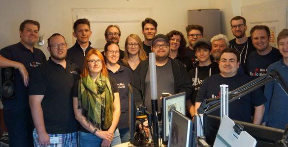 """Das Team der Radiomacher 2019 der """"Welle West Wetterau"""""""