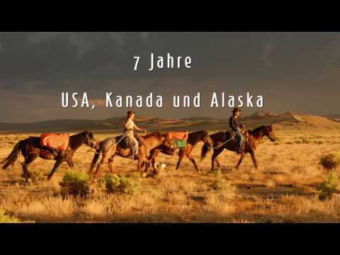 Der lange Ritt, 7 Jahre unterwegs in Amerika, Kanada & Alaska, Live Reportage von Sonja Endlweber